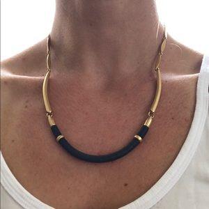 Stella & Dot Jewelry - Gold and black Stella & Dot Necklace